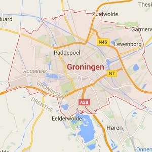 Bezorgregio bloemenabonnement Groningen